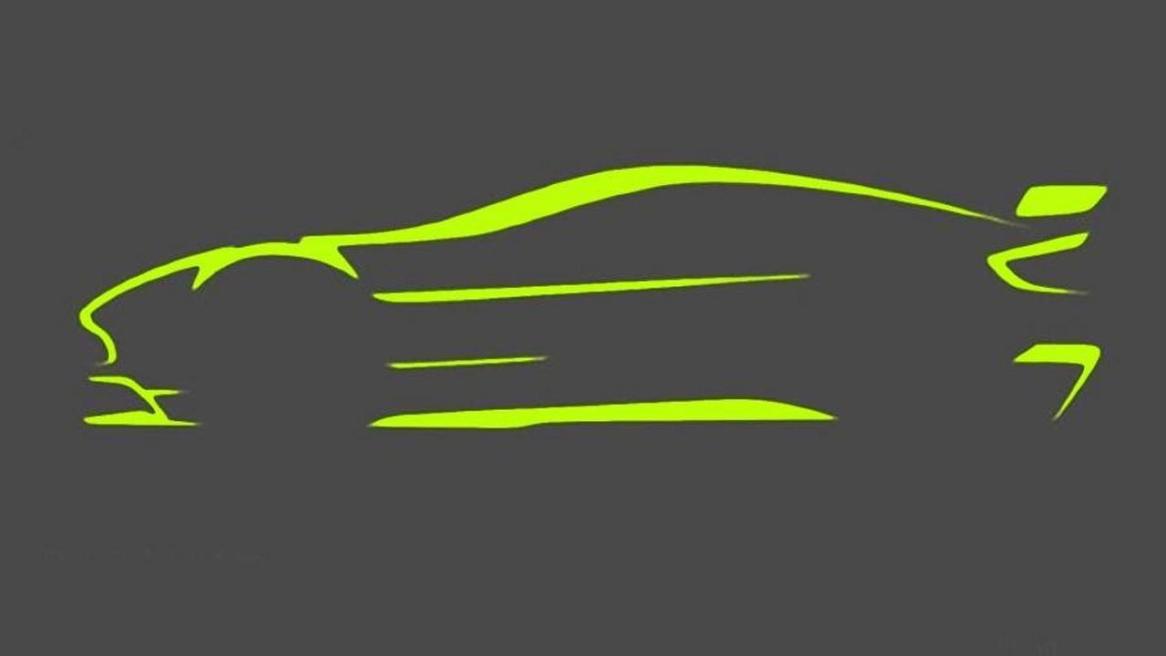 Aston Martin Vantage GT8 teaser