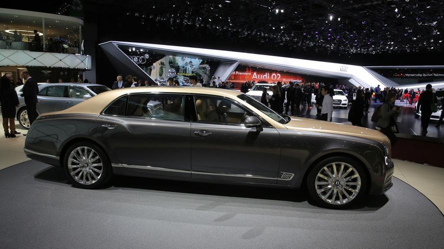 Bentley Mulsanne facelift visits Geneva with EWB model