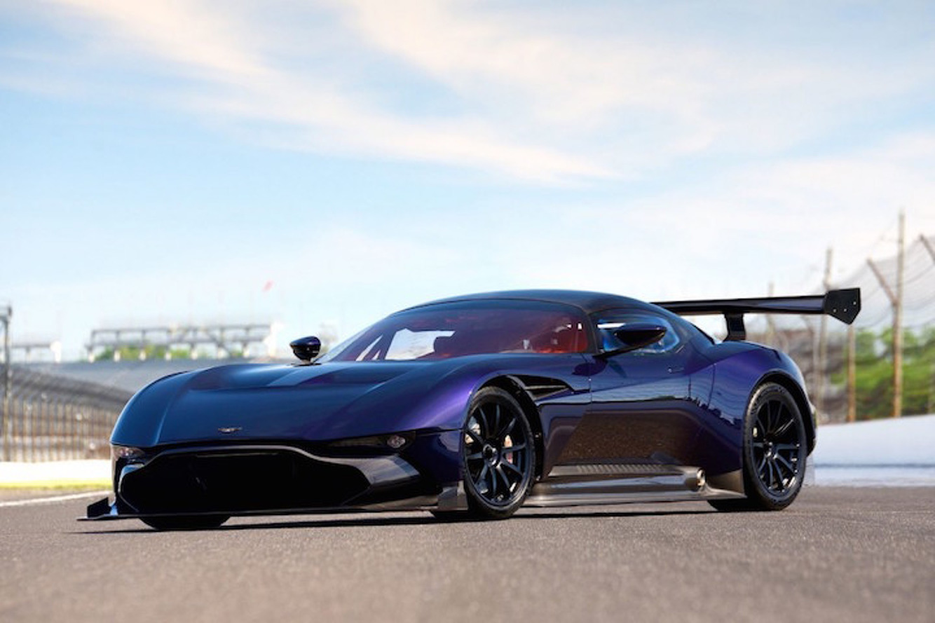 Pretty in Purple: Rare Aston Martin Vulcan Heading to Auction