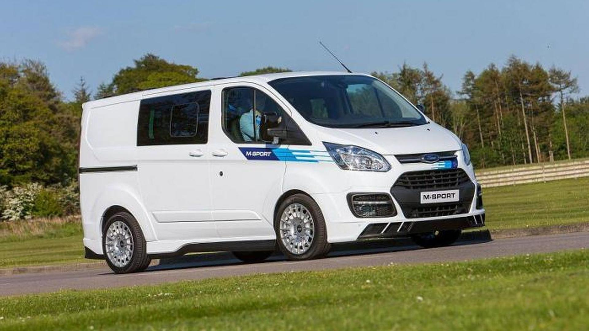 wrc inspired ford transit by m sport revealed. Black Bedroom Furniture Sets. Home Design Ideas