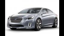 Subaru Legacy Concept é revelado antes do Salão de Los Angeles