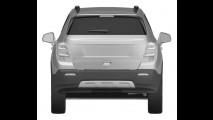 Versão Chevrolet do Buick Encore, crossover Enjoy aparece em registro de patentes europeu