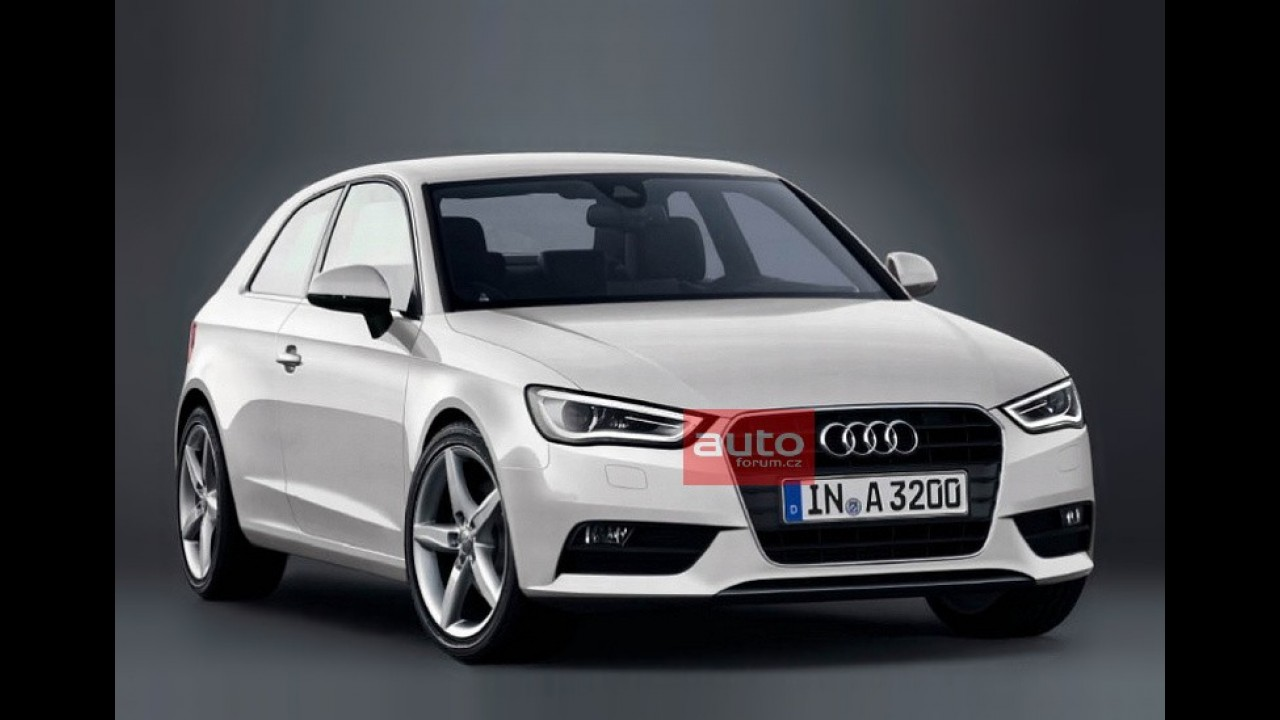 Novo Audi A3 aparece em suposta primeira imagem oficial