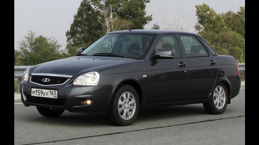 Conflito entre Rússia e Ucrânia obriga Lada a deixar de produzir 25 mil carros