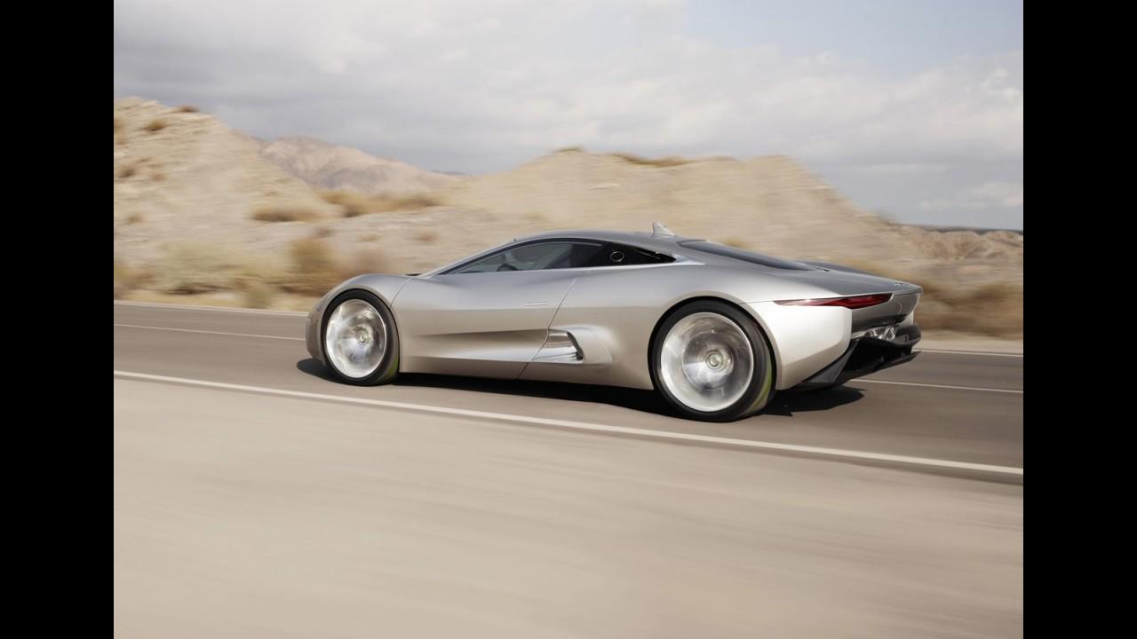 Jaguar confirma produção em série do superesportivo híbrido C-X75