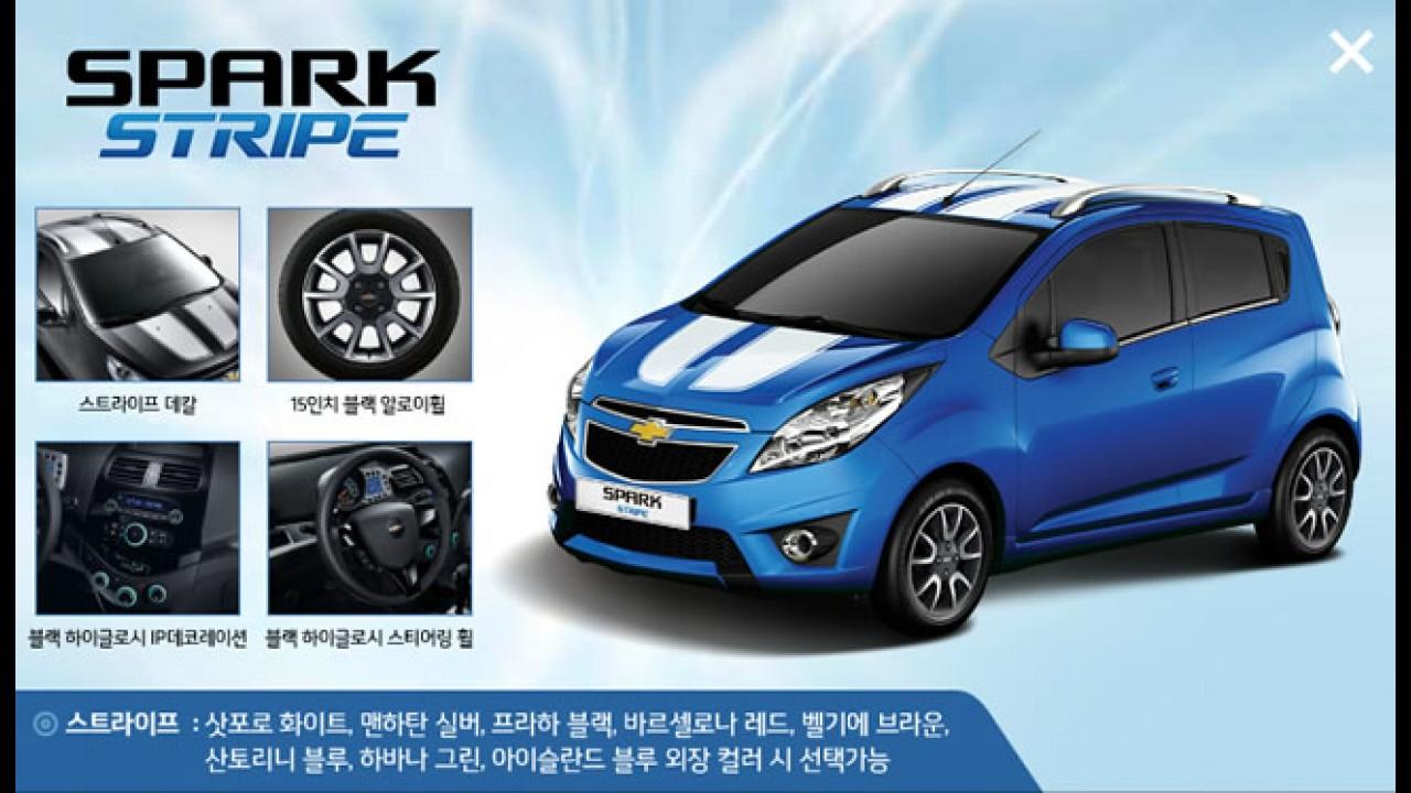 """Chevrolet Spark ganha série especial """"Tattoo"""" na Coréia do Sul"""