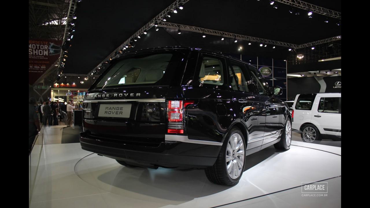 Salão do Automóvel: Land Rover apresenta Novo Range Rover Vogue ao Brasil