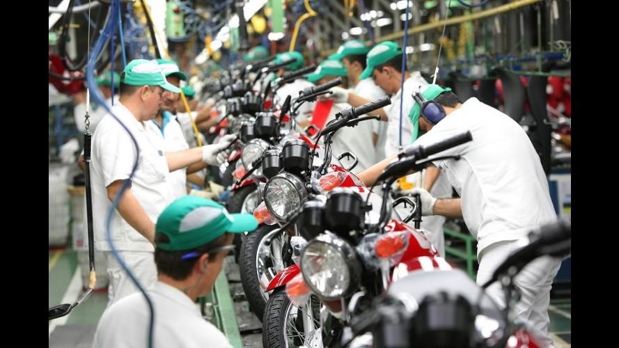 Honda supera marca de 20 milhões de motos produzidas no Brasil