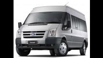 Ford Transit ganha novo motor Duratorq 2.2 de 125 cv na versão para passageiros
