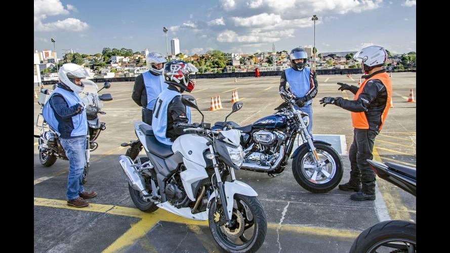 Curso de pilotagem da Abtrans passa a oferecer motos para as aulas