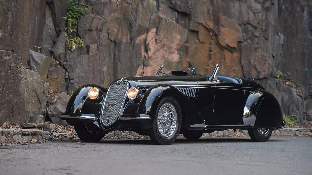 Alfa Romeo 8C 2900 B Lungo Spider (1939): 17.302.400 euros