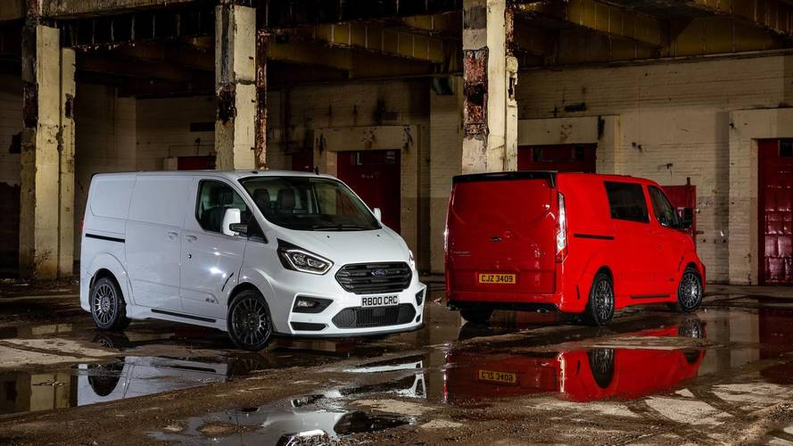 Ford reveals rally-inspired van