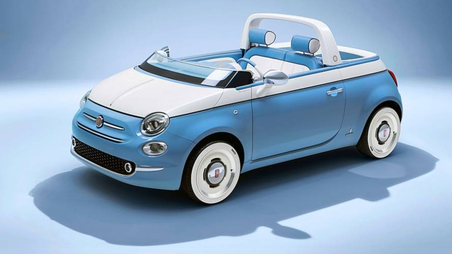 It Doesn't Get More Adorable Than This Fiat 500 Spiaggina