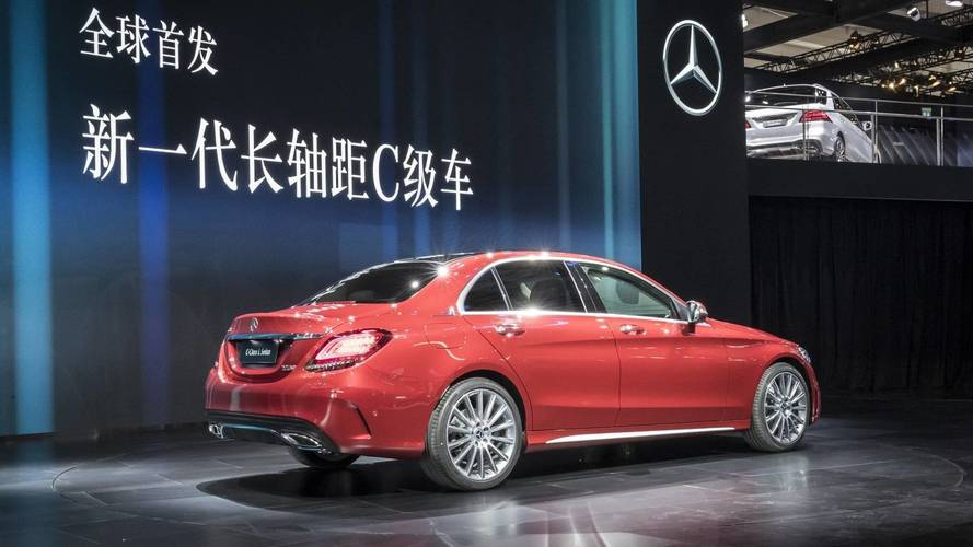 2019 Mercedes C-Class L Brings Its Extended Wheelbase To Beijing
