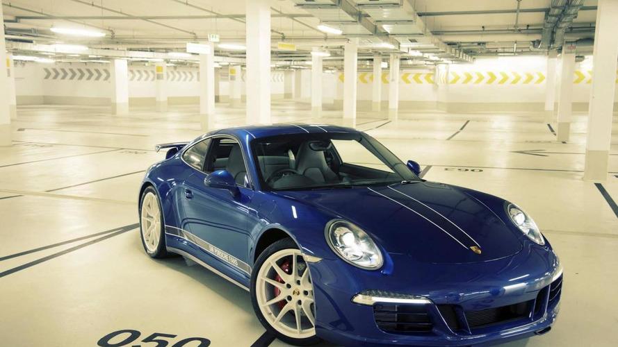 Porsche reveals special 911 Carrera 4S built to celebrate 5M fans on Facebook
