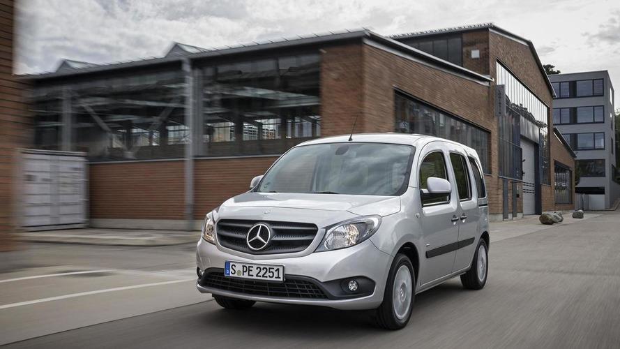 Mercedes introduces the Citan Crewbus, announces several new engines