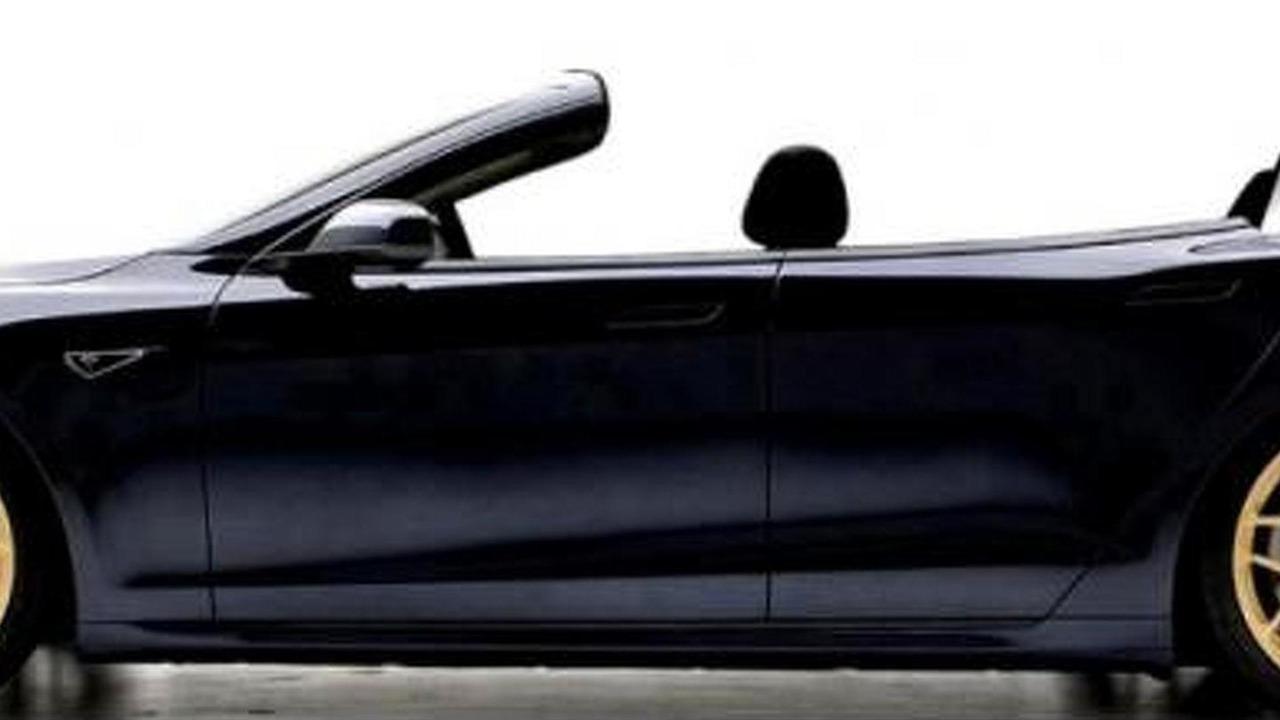 Tesla Model S Cabriolet by Newport Convertible Engineering