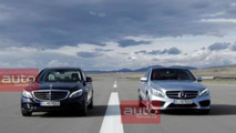 2014 Mercedes-Benz C-Class leaked photo