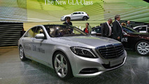 2014 Mercedes-Benz S500 Plug-In Hybrid live at 2013 Frankfurt Motor Show 10.09.2013