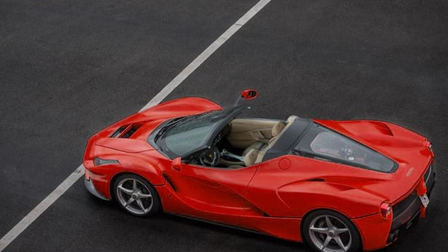LaFerrari Spider receives the virtual treatment