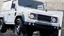 Kahn Design attempts to make the Land Rover Defender look more modern