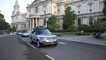 Range Rover Hybrid on Silk Trail 2013 29.8.2013