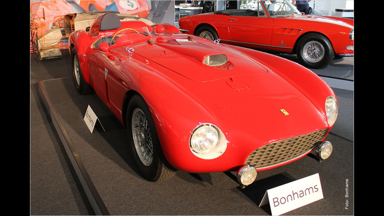 Platz 3: Ferrari 375 MM, Baujahr 1954