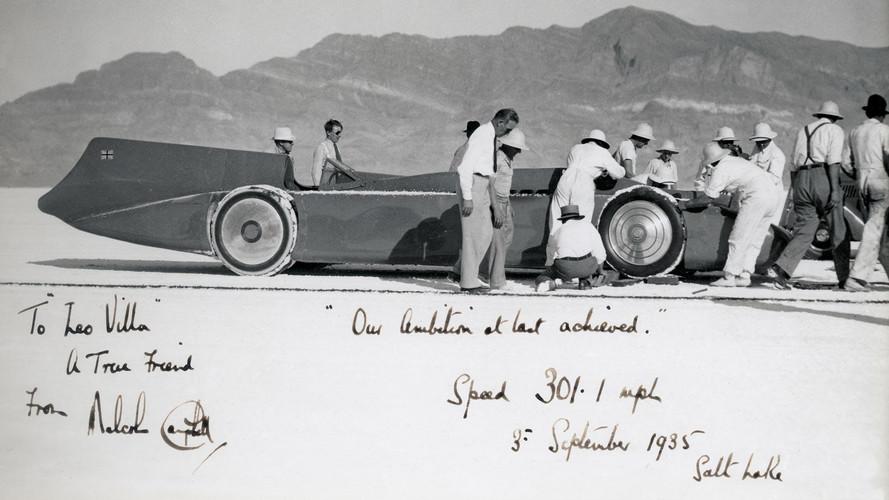 Sir Malcolm Campbell'in 1933 Rolls-Royce Phantom II'si