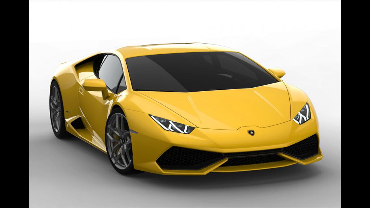 Ferrari gegen Lamborghini