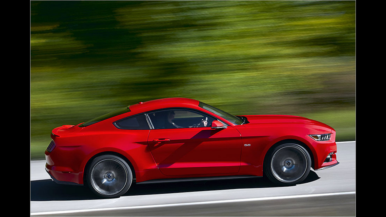 Top: Ford Mustang