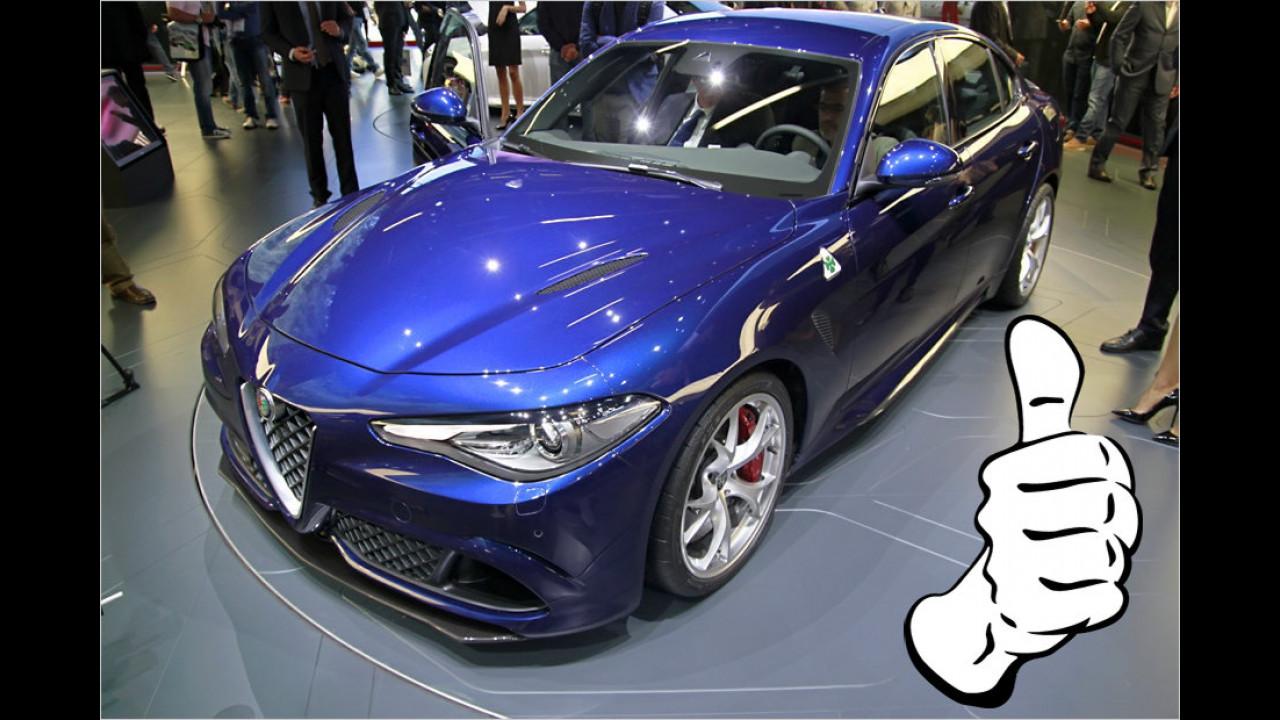 Top: Alfa Romeo Giulia