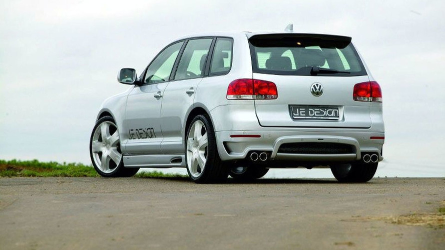 VW Touareg from JE DESIGN World premiere