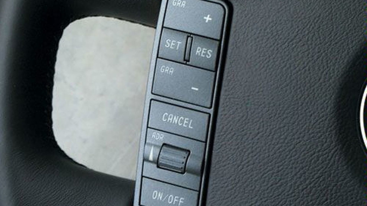VW Phaeton ADR controls