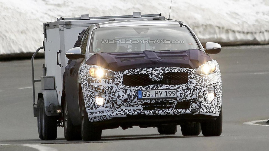2015 Kia Sorento spied undergoing testing in Switzerland