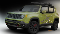 Off-road Mopar-equipped Jeep Renegade