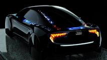 Audi R8 OLED concept 01.03.2012