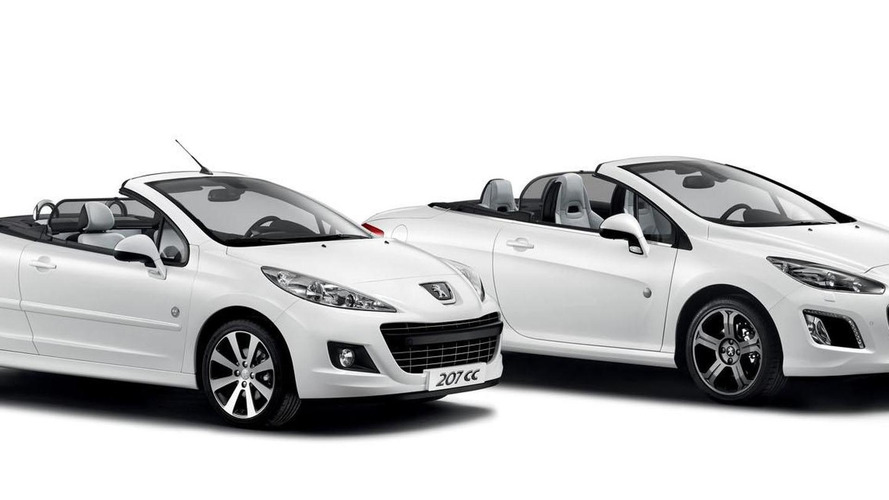 Peugeot 207 CC & 308 CC Roland Garros special editions announced (UK)