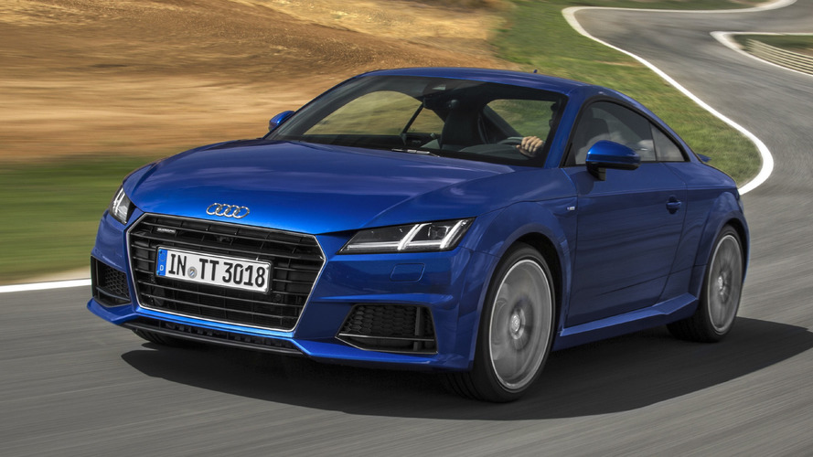 Audi TT 2.0 TDI did not have Quattro AWD, until now