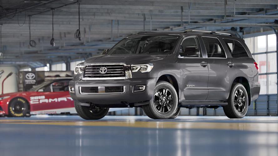 2018 Toyota Sequoia, Tundra TRD Sport models toughen up