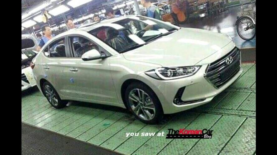 Novo Hyundai Elantra 2017 é flagrado
