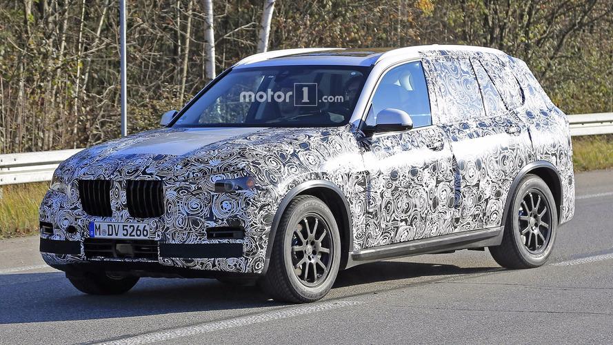 Le prochain BMW X5 2018 est déjà presque prêt