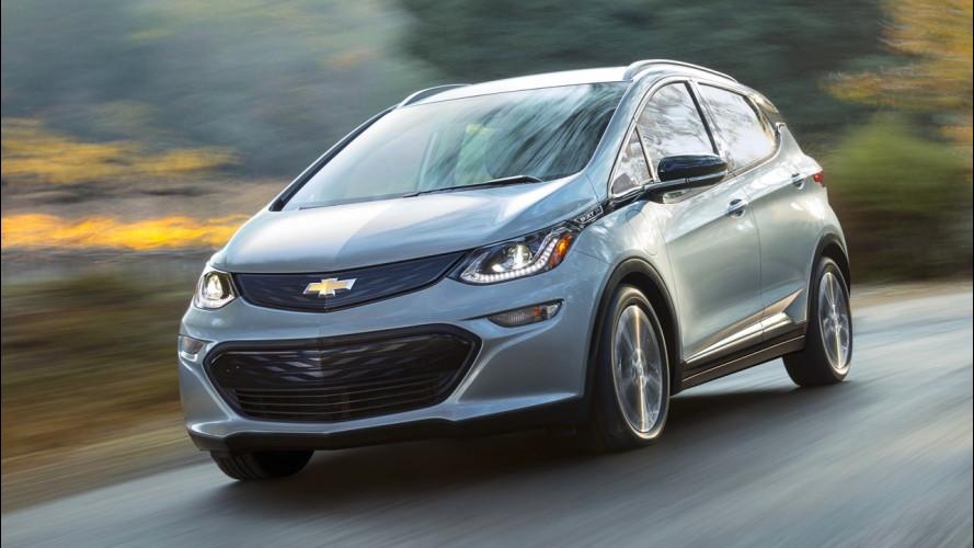 Chevrolet Bolt bate sem ninguém ao volante - GM investiga