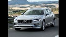 Bela e tecnológica, Volvo V90 chega ao mercado resgatando uma tradição