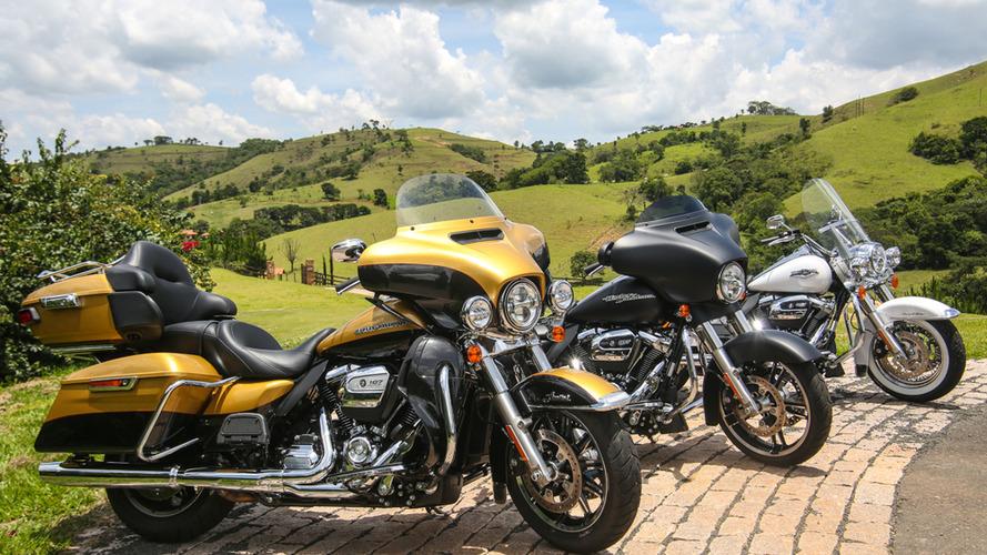 Volta Rápida: Como andam as novas Harley 2017 com motor Milwaukee-Eight