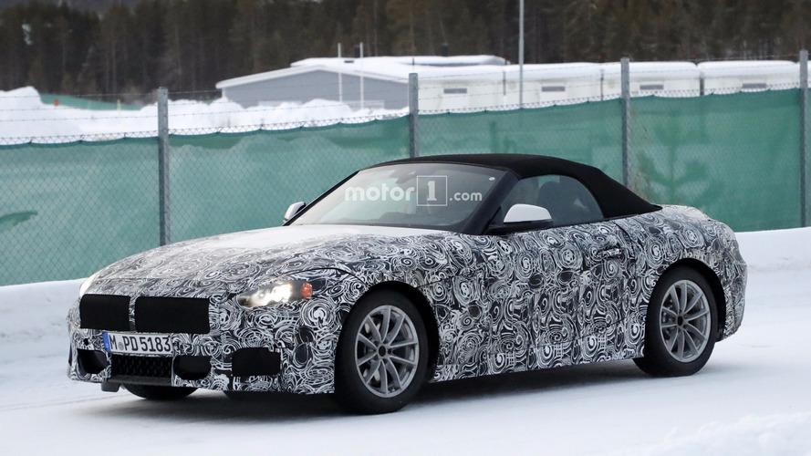 Photos espion - La BMW Z5 se découvre