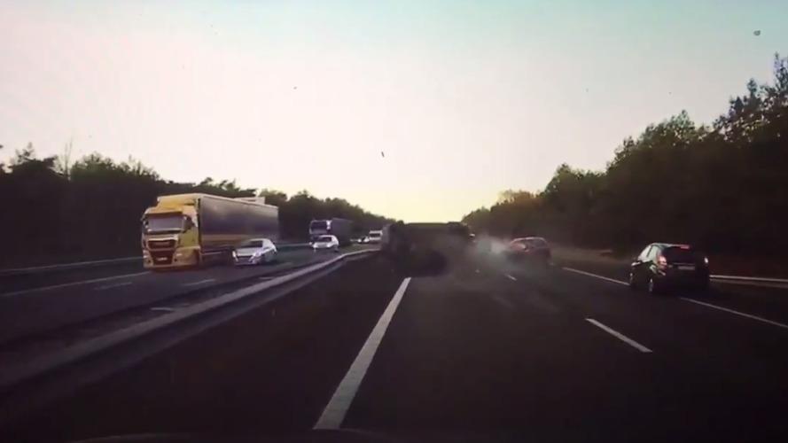 Tesla Model S predicts highway crash before it happens