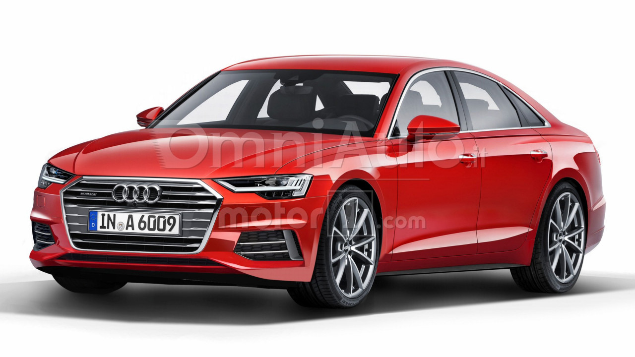 Nuova Audi A6, il rendering