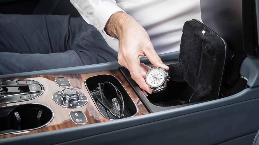 Bentley Bentayga Fingerprint Security Storage