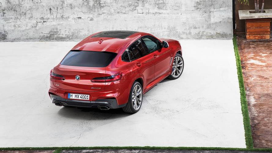BMW X4 luxury SUV revealed, starts at more than $51000