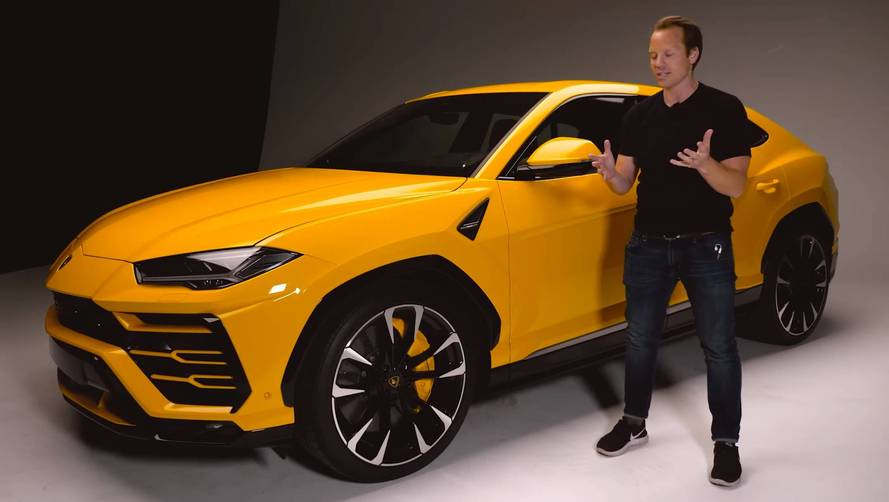 Lamborghini Urus Super SUV Dissected By Top Gear